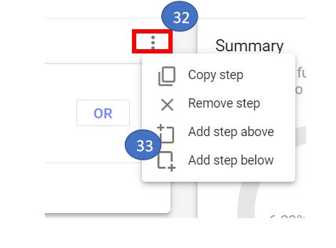 18 Copy or add step in GA4