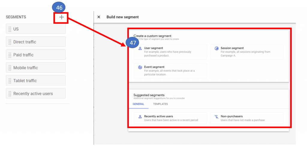 27 Create a segment in funnel analysis in Google Analytics 4