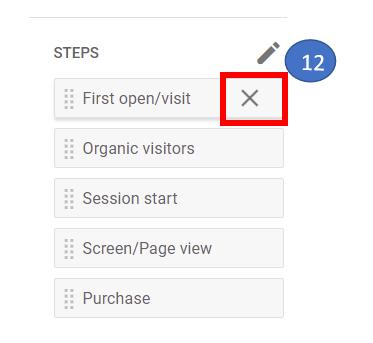 8 Delete default funnel steps