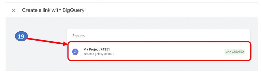 14. GA4 BigQuery Link Confirmation