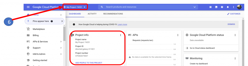 5. GA4 Project Created in BigQuery
